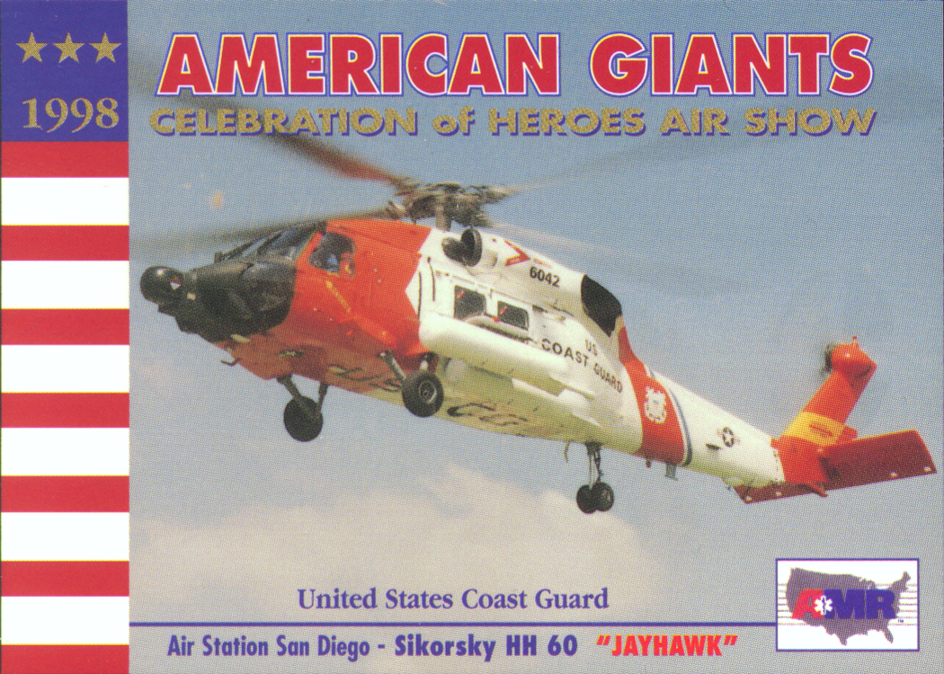 Trading Cards - American Heroes Air Show